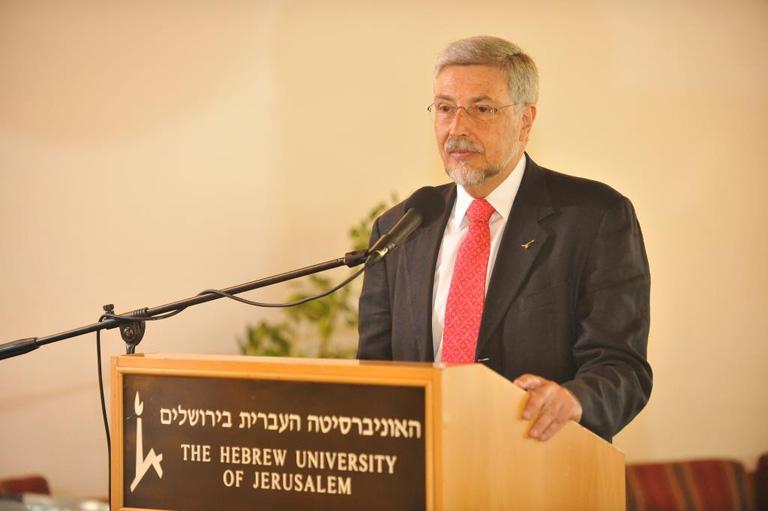 El Arq. José Alfredo Santos se suma a la lista de los miembros honorarios de la Universidad Hebrea de Jerusalem